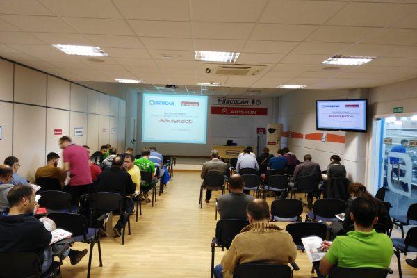 Encuentro técnico Ariston eficiencia energética en calefacción y ACS.