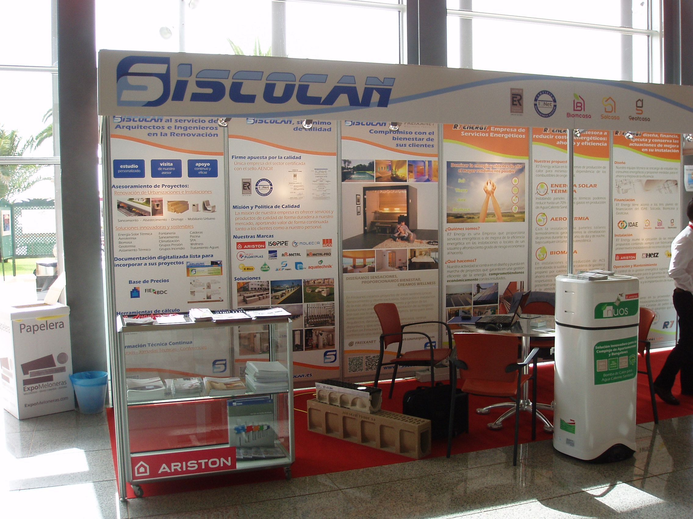 II Salón de la renovación Expo Meloneras 2012