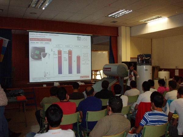 Curso formación IES San Cristobal . Siscocan-Ariston