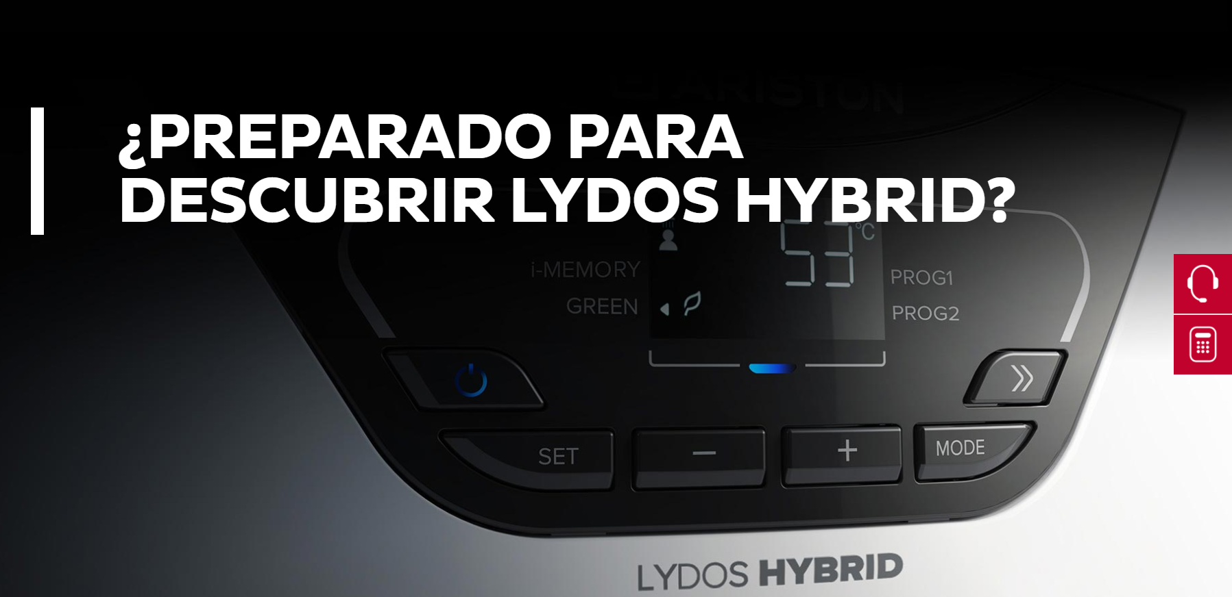 PRESENTACIÓN DEL NUEVO TERMO ELÉCTRICO HÍBRIDO ARISTON LYDOS